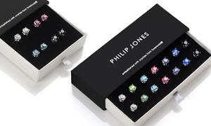 (Bijou)  BO Philip Jones ornées cristaux Swarovski® -58% réduction