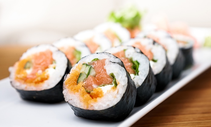 Kublai Khan - Parmer Center: Mongolian Cuisine and Sushi at Kublai Khan (Up to 43% Off). Two Options Available.