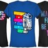 Star Wars Junior's Rainbow Tees