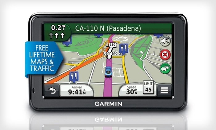 Garmin nüvi 2455LMT 4.3-Inch GPS With Lifetime Maps and Traffic: $104.99 for a Garmin nüvi 2455LMT GPS (Manufacturer Refurbished) ($179.99 List Price). Free Shipping and Free Returns.