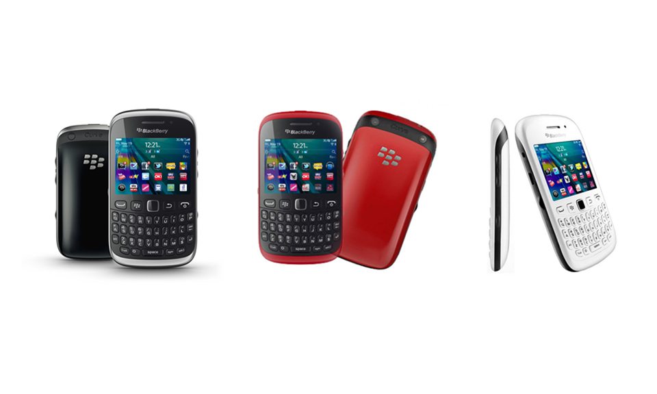Blackberry Curve 9320 Red Demo Blackberry Curve 9320 For