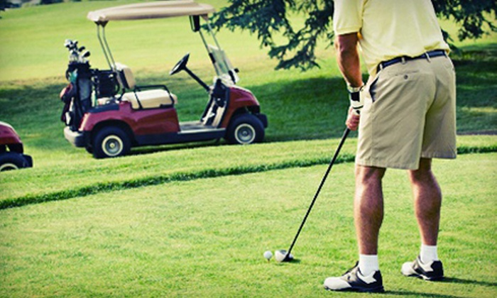 The Fairways Golf Course - Greater Spokane Area: 18 Holes for Two or Four with Cart Rental and Range Balls at The Fairways Golf Course (Up to 60% Off)