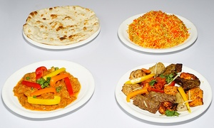 Lal Qila Indo Pak Cuisine and Banquet Hall: Indo-Pak Meal for Two or Event and Wedding Package at Lal Qila Indo Pak Cuisine and Banquet Hall (Up to 77% Off)