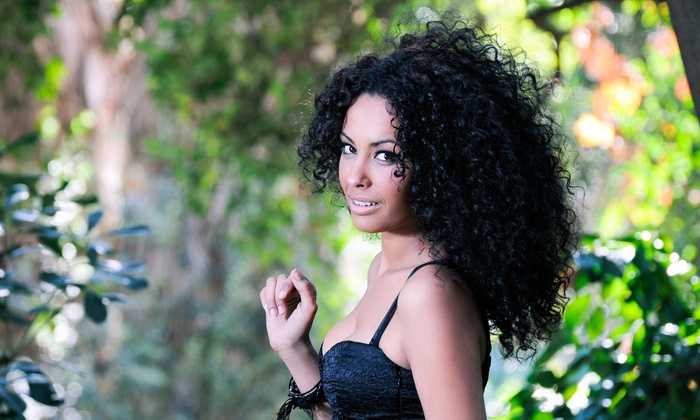 The Glam Shack - Rialto: All-Natural Hair Smoothing and Conditioning Treatment from The Glam Shack (60% Off)