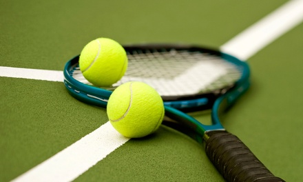 Five-Week Adult Beginners Program or Five-Class Intermediate Program at LaTuchie Tennis Center in Stow (Up to 56% Off)
