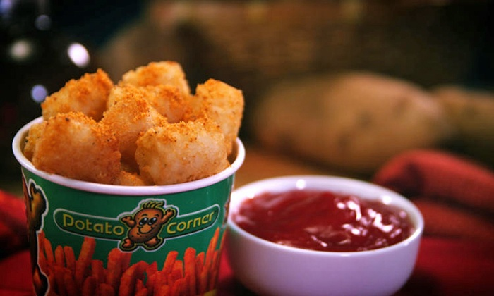 Potato Corner - Sherman Oaks: One or Two Groupons, Each Good for Fries, Chips, and Loaded Potatoes at Potato Corner (Half Off)