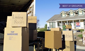 Ideal Moving & Storage: $159 for Two Hours of Moving Services from Ideal Moving & Storage ($325 Value)