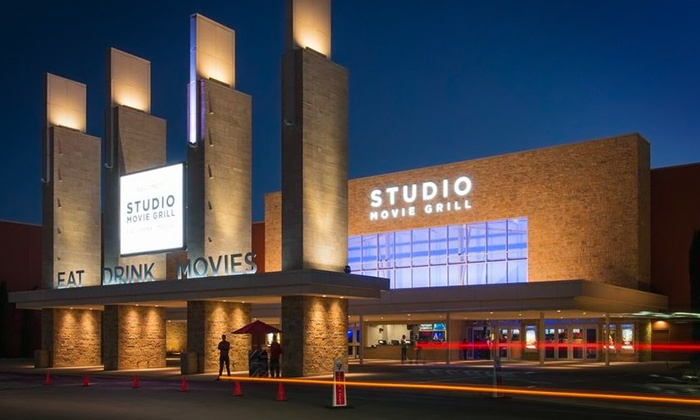 Studio Movie Grill - Multiple Locations: $5.49 for a Movie Ticket at Studio Movie Grill (Up to $10.50 Value)