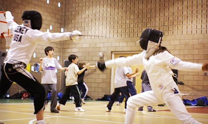 Front Range Fencing Club - Briargate: $40 for Four Weeks of Kids' Fencing Lessons at Front Range Fencing Club ($85 Value)