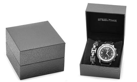 Men's Watch and Bracelet Gift Set