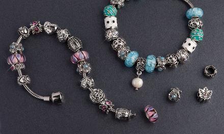 Bracelet Charms de la marque Mestigé orné de cristaux Swarovski®, modèle au choix, dès 16,99€, livraison offerte