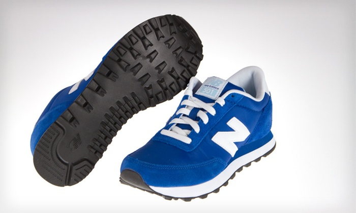New Balance Women's 501 Sneakers: $39 for New Balance Women's 501 Sneakers in Blue and White ($39.99 List Price). Free Shipping. Multiple Sizes Available.
