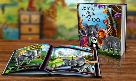 Personalised Children's Storybook in Soft (from $9.99) or Hardcover (from $16.99) (Don't Pay up to $79.98)