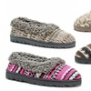 Muk Luks Women's Patterned Full Foot Slippers