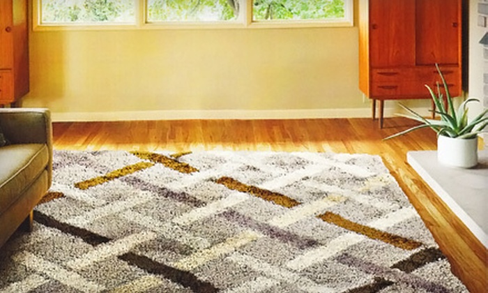 Rugs Original - Victoria: 5'x7' Machine-Made Shag Rug or $99 for $300 Worth of Carpets, Rugs, and Khelims at Rugs Original