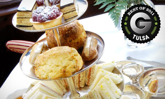Nibbles Cafe - Tulsa - Broken Arrow: High Tea for Two Adults or Kids at Nibbles Cafe (Up to 61% Off)