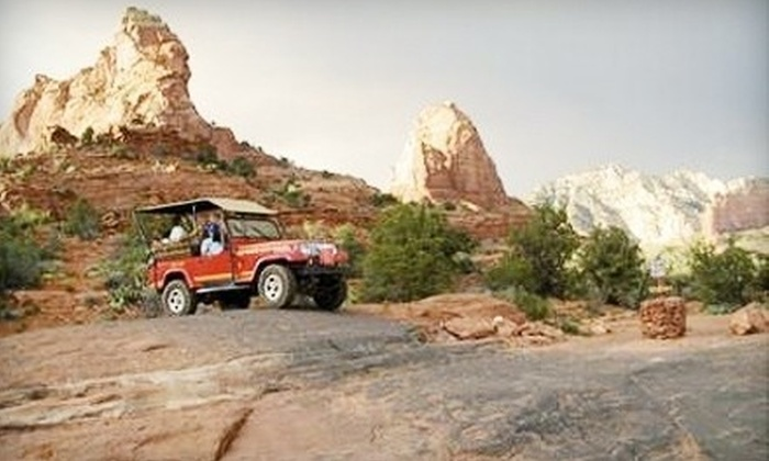 Red Rock Western Jeep Tours - Sedona: Two-Hour Guided Excursion for One, Two, or Four from Red Rock Western Jeep Tours in Sedona (Up to 43% Off)