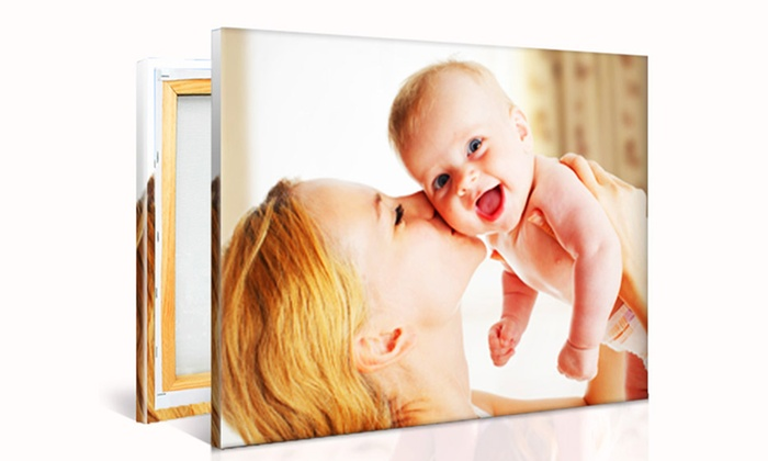 Printerpix: Custom Photo Canvas from PrinterPix (Up to 90% Off). Multiple Sizes Available.