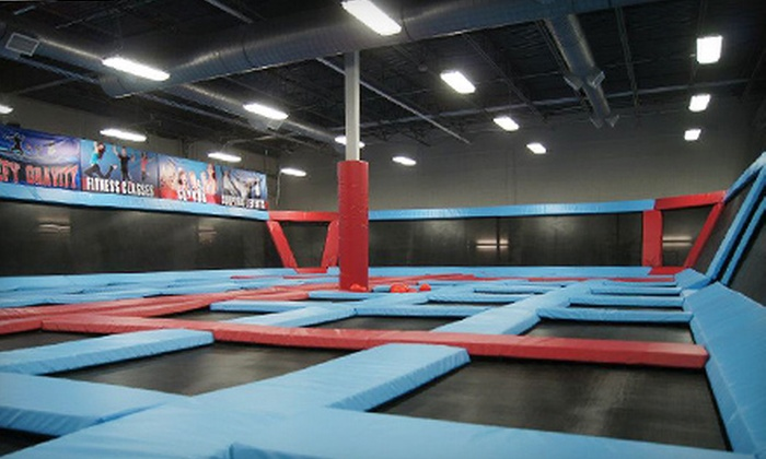Defy Gravity - La Vista: Two Hours of Trampoline Play for One, Two, or Four at Defy Gravity (Up to 52% Off)