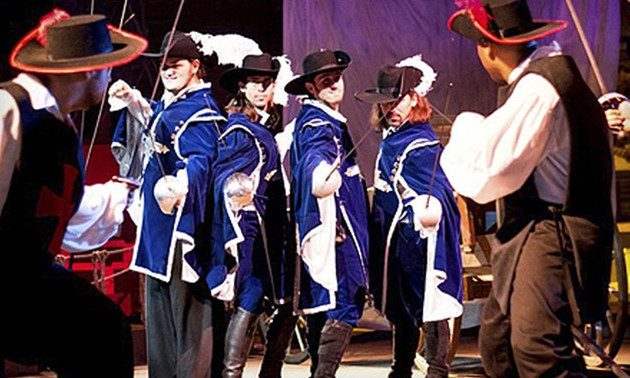 Pirate's Town - Orlando: Three Musketeers Dinner Show for an Adult or Child at Pirate's Town (Up to 55% Off)