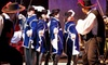 Pirate's Town - Enclave at Orlando: Three Musketeers Dinner Show for an Adult or Child at Pirate's Town (Up to 55% Off)