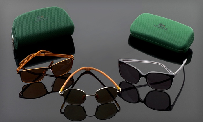 Lacoste Sunglasses: Lacoste Sunglasses (Up to 69% Off). Multiple Styles Available.
