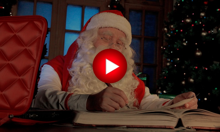 Lettre Au Pere Noel Video Personnalise.Video Personnalisee Du Pere Noel Elfisanta Groupon