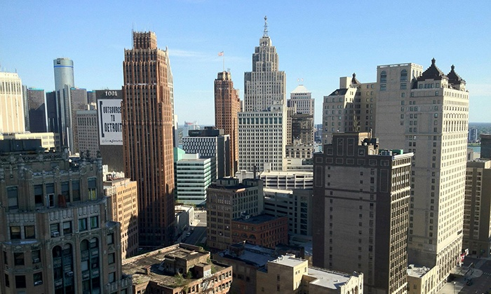 Backseat Detroit - Downtown: $49 for a Guided  Tour of Detroit on Foot or by Car for Up to Four  from Backseat Detroit ($100 Value)