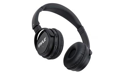 Pyle Folding Noise-Canceling Headphones
