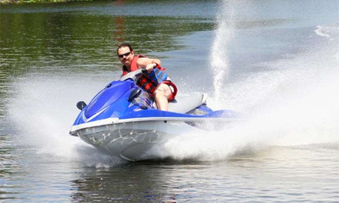 Fun Rentals - Willis: Two- or Four-Hour Yamaha WaveRunner Rental from Fun Rentals (Up to 55% Off)