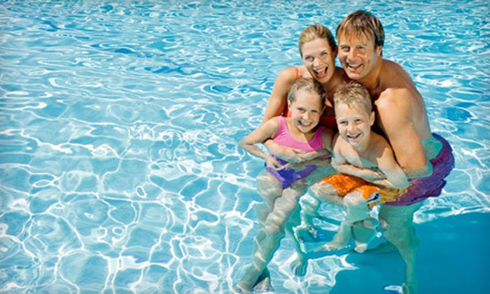 Pointer Ridge Swim & Racquet Club - Bowie: $50 for Five-Visit Family Pool Pass with a Guest Pass at Pointer Ridge Swim & Racquet Club ($150 Value)