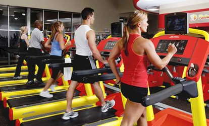 image for One- or Three-Month Basic or VIP <strong>Gym</strong> Membership at Retro Fitness (Up to 51% Off)