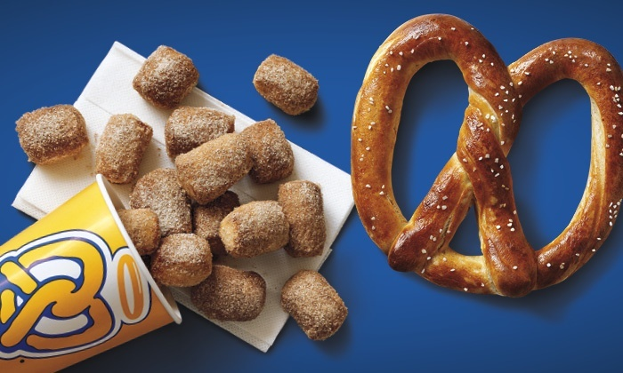 Auntie Anne's - Northpoint Mall: $7 for Four Pretzel Products of Your Choice at Auntie Anne's ($17.12 Value)