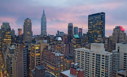 groupon daily deal - Stay at Candlewood Suites New York City Times Square in Manhattan, with Dates into April