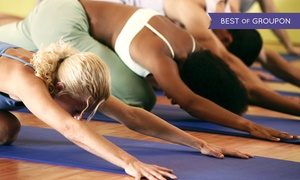 Up to 72% Off at Chesapeake Hot Yoga