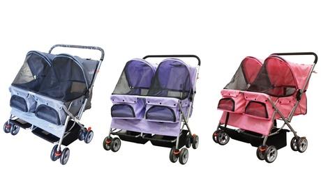 Double Side-by-Side Pet Stroller a072531e-a205-11e6-b52b-00259060b5da