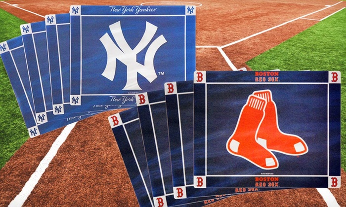 Four-Pack of MLB Flexible Placemats: $14.99 for a Set of Four MLB Flexible Placemats ($55.60 List Price). 15 Teams Available. Free Returns.