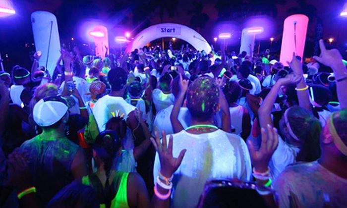 The Neon Vibe - Expo Square: The Neon Vibe 5K for One or Four on Saturday, November 2, at 7 p.m. (Up to 33% Off)