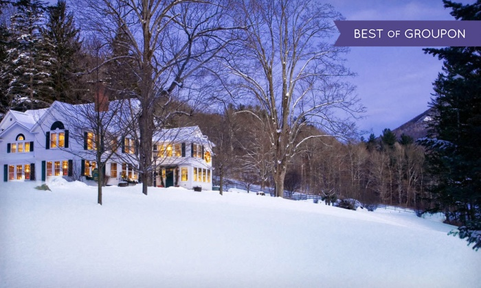 West Mountain Inn - Arlington, VT: 2-Night Stay for Two with $20 Dining Credit at West Mountain Inn in Arlington, VT. Combine Up to Four Nights.
