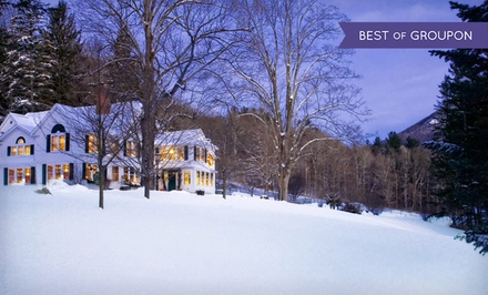 Groupon Deal: 2-Night Stay for Two with $20 Dining Credit at West Mountain Inn in Arlington, VT. Combine Up to Four Nights.