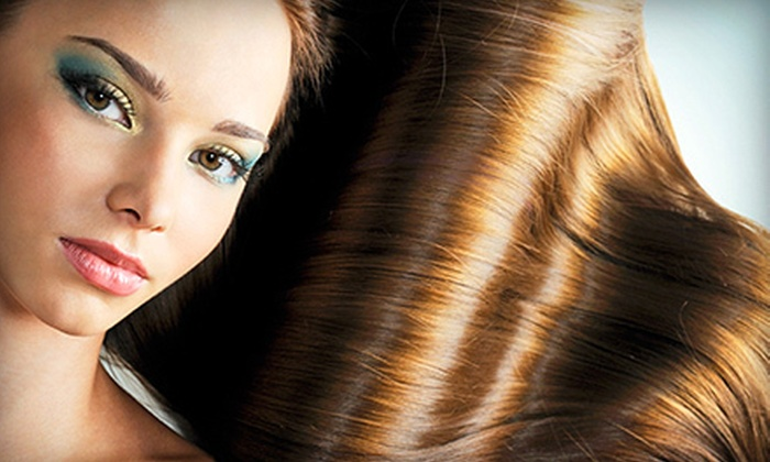 Textures Hair Salon - Gaithersburg: One or Two Brazilian Blowouts at Textures Hair Salon (Up to 74% Off)