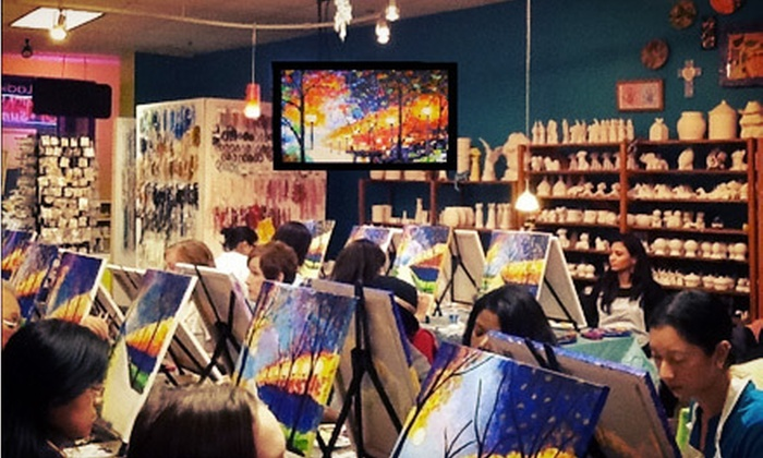 Sip & Stroke - Ellard: Adult BYOB Painting Class for One or Two at Sip & Stroke (52% Off)