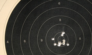 Quickshot Shooting Range: Shooting-Range Packages for Two at Quickshot Shooting Range (Up to 40% Off). Three Options Available.