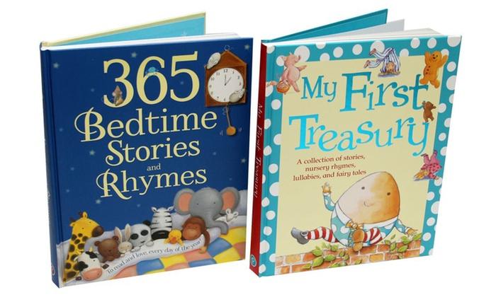 Giant Treasury Of Kids Bedtime Stories And Nursery Rhymes 2 Pack