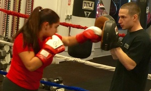 New York Fitness and Boxing: Four Weeks of Unlimited Boxing or Kickboxing Classes at New York Fitness and Boxing (47% Off)