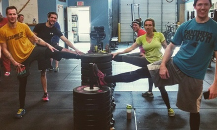 Up to 73% Off Crossfit classes at CrossFit 704