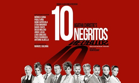 Entrada para la obra '10 Negritos' de Agatha Cristie por 16,80 € en el Teatro Campos Elíseos Oferta en Groupon