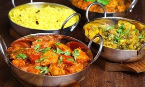 Desi Spice: Two Lunch Buffets or Two Entrees and One Appetizer at Desi Spice (Up to 49% Off)