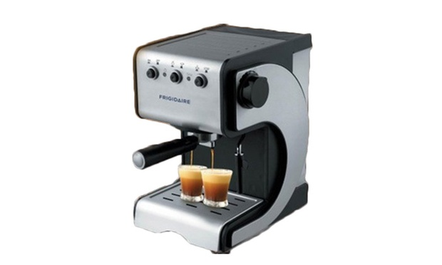 54% off USD 498 for a Frigidaire Automated Coffee Machine with a Built-in Grinder (worth USD 1,088 ...