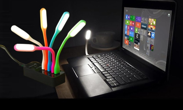 Rs.199 for a Portronics USB LED Flexible Lamp – Buy 1 Get 1 FREE. Choose from 15 Options